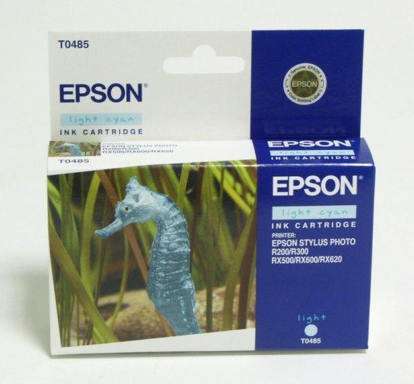 Картридж EPSON T0485, светло-голубой [c13t04854010]