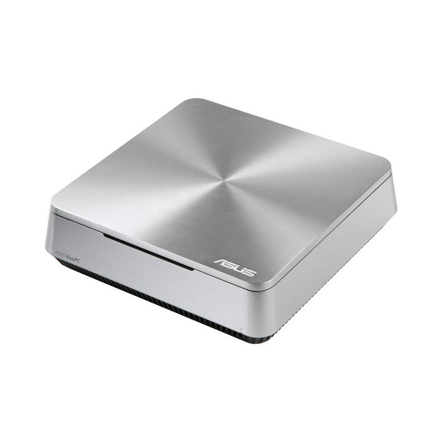 Неттоп  ASUS VivoPC VM40B-S081M,  Intel  Celeron  1007U,  DDR3 4Гб, 500Гб,  Intel HD Graphics,  noOS,  серебристый [90ms0011-m01440]