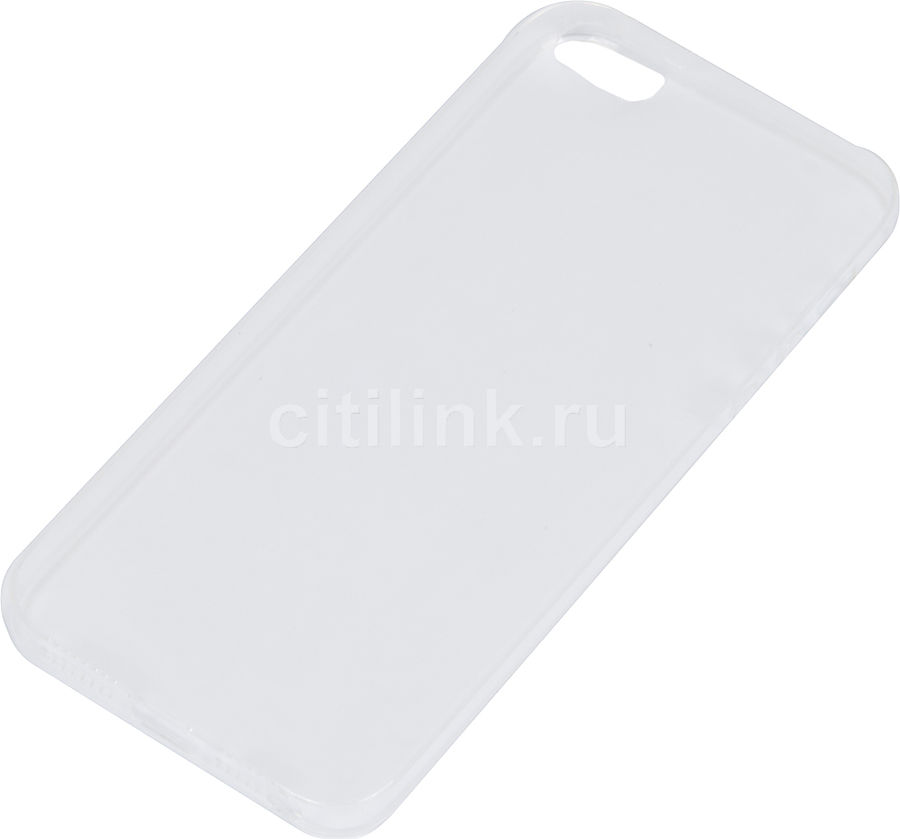 Чехол (клип-кейс) REDLINE iBox Crystal, для Apple iPhone 5/5s/SE, прозрачный [ут000007224]
