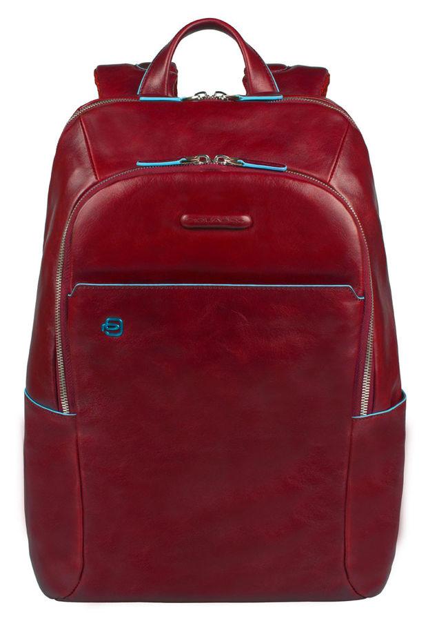 Рюкзак Piquadro Blue Square CA3214B2/R красный натур.кожа