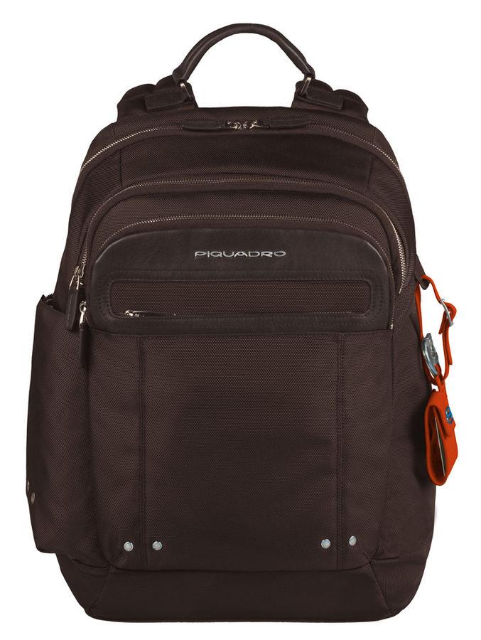 Рюкзак Piquadro Link CA2961LK/TM коричневый натур.кожа/нейлон