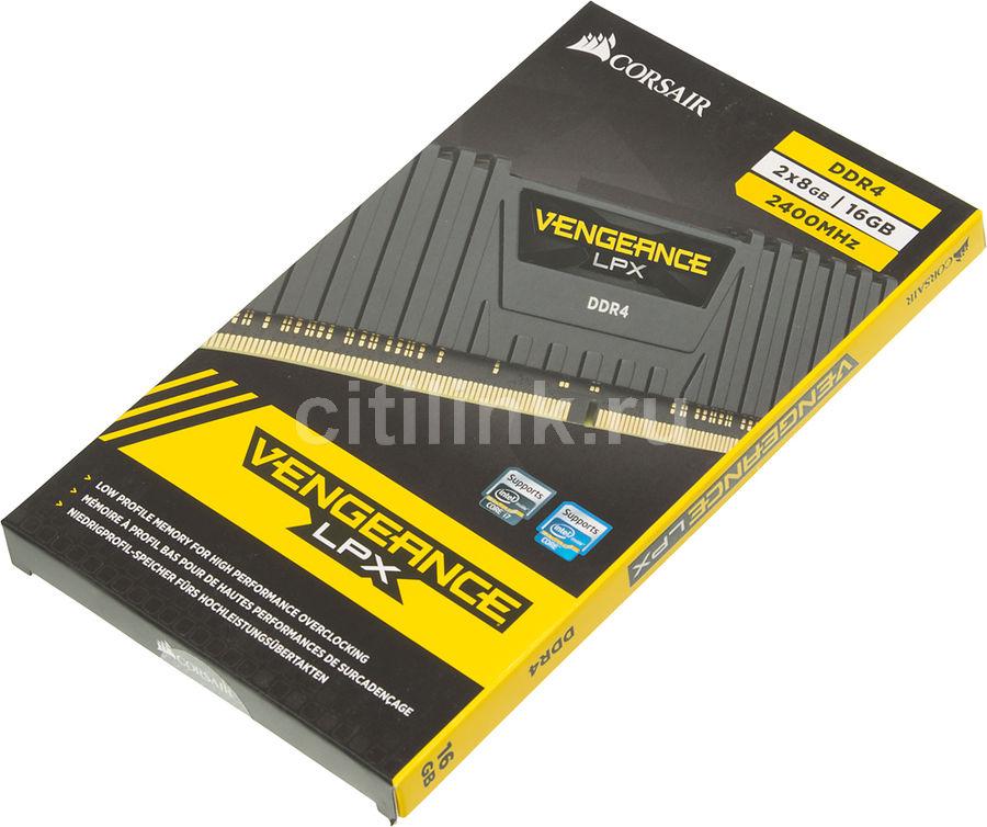 Модуль памяти Corsair Vengeance RGB DDR4 DIMM 3333MHz PC4-26600 CL16 - 32Gb KIT (2x16Gb) CMR32GX4M2C3333C16
