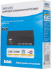 Ресивер DVB-T2 BBK SMP014HDT2,  темно-серый вид 7