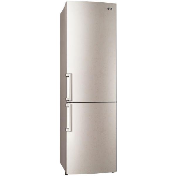 Холодильник LG GA-B489ZECA,  двухкамерный,  бежевый