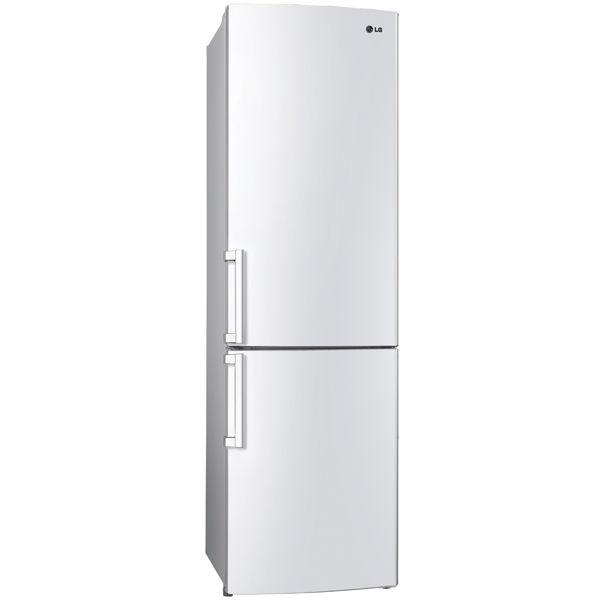 Холодильник LG GA-B489ZVCA,  двухкамерный,  белый глянец