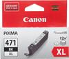 Картридж CANON CLI-471XLBK 0346C001,  черный вид 1