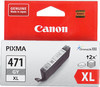 Картридж CANON CLI-471XLGY серый [0350c001] вид 1