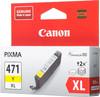 Картридж CANON CLI-471XLY желтый [0349c001] вид 3
