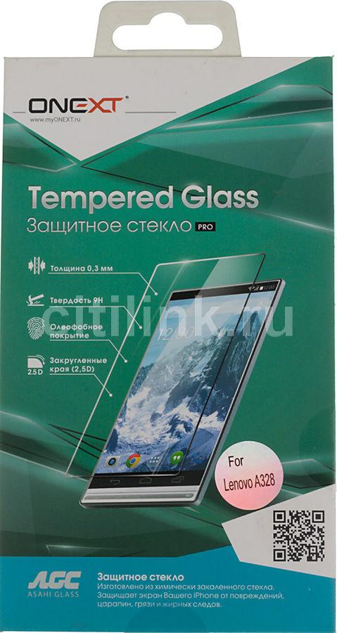 Защитное стекло ONEXT для Lenovo A328,  1 шт [40972]