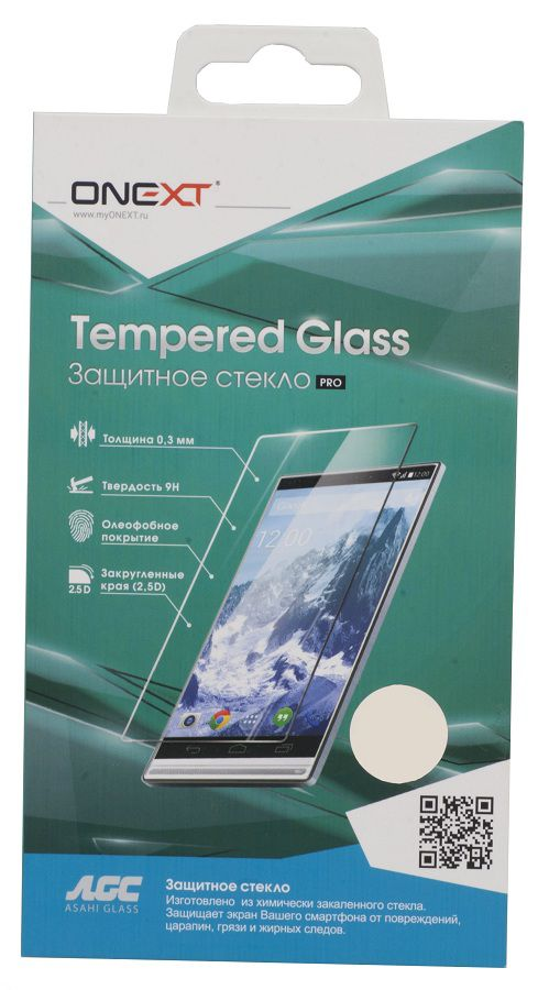 Защитное стекло ONEXT для Lenovo A6000,  1 шт [40952]