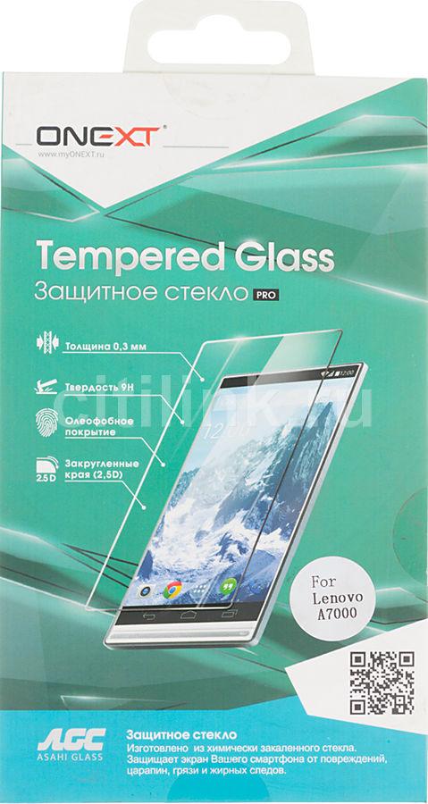 Защитное стекло ONEXT для Lenovo A7000,  1 шт [40953]