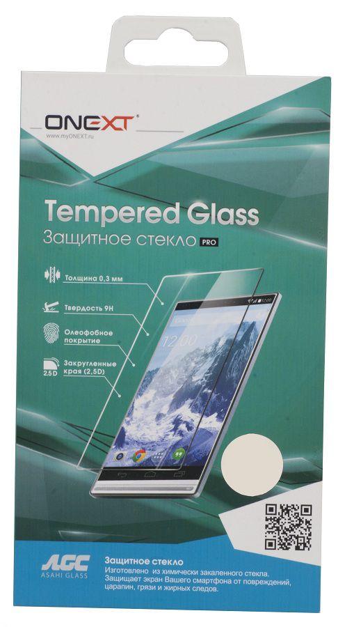 Защитное стекло ONEXT для Samsung Galaxy S6,  1 шт [40909]