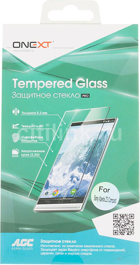 Защитное стекло ONEXT для Sony Xperia Z3 Compact,  1 шт [40912]