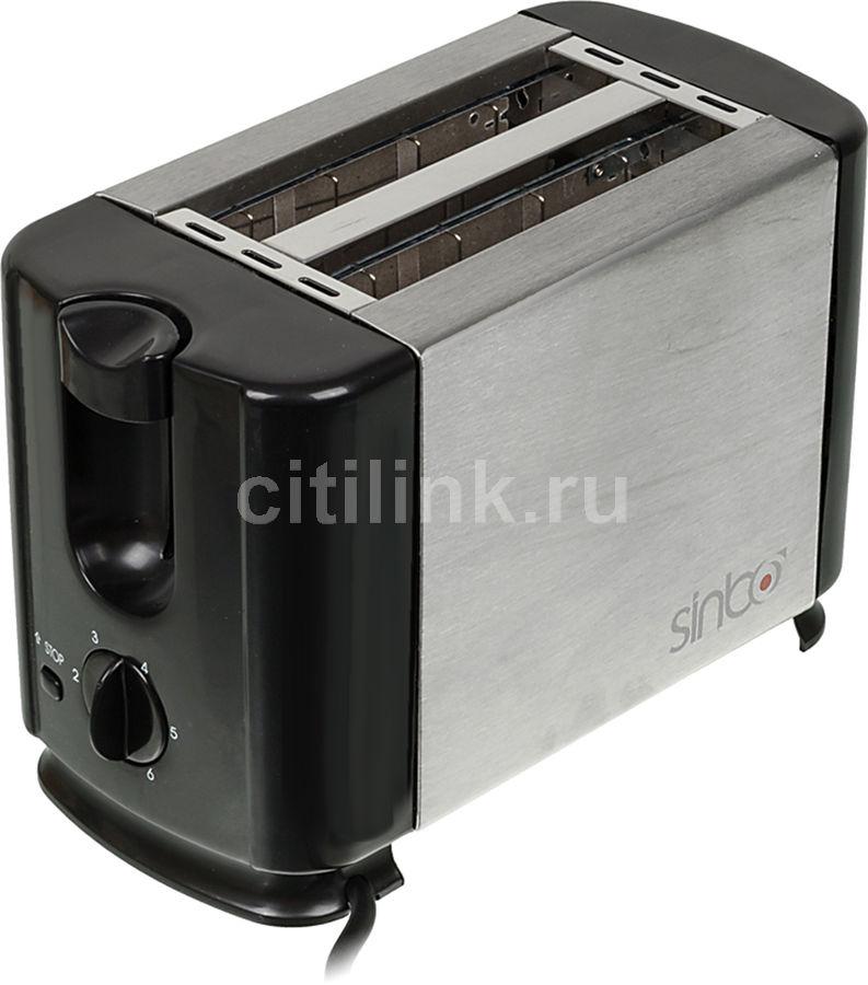 Тостер SINBO ST 2413,  серебристый/черный