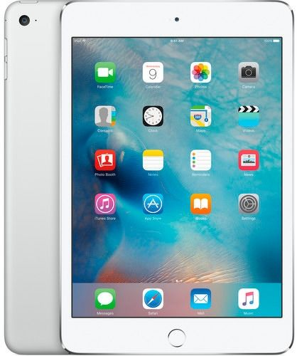 Планшет APPLE iPad mini 4 128Gb Wi-Fi MK9P2RU/A, 2GB, 128GB, iOS серебристый