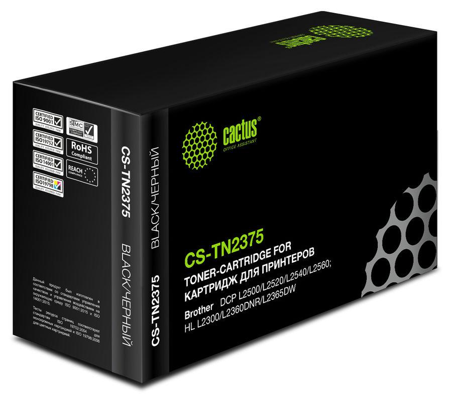 Картридж CACTUS CS-TN2375 черный