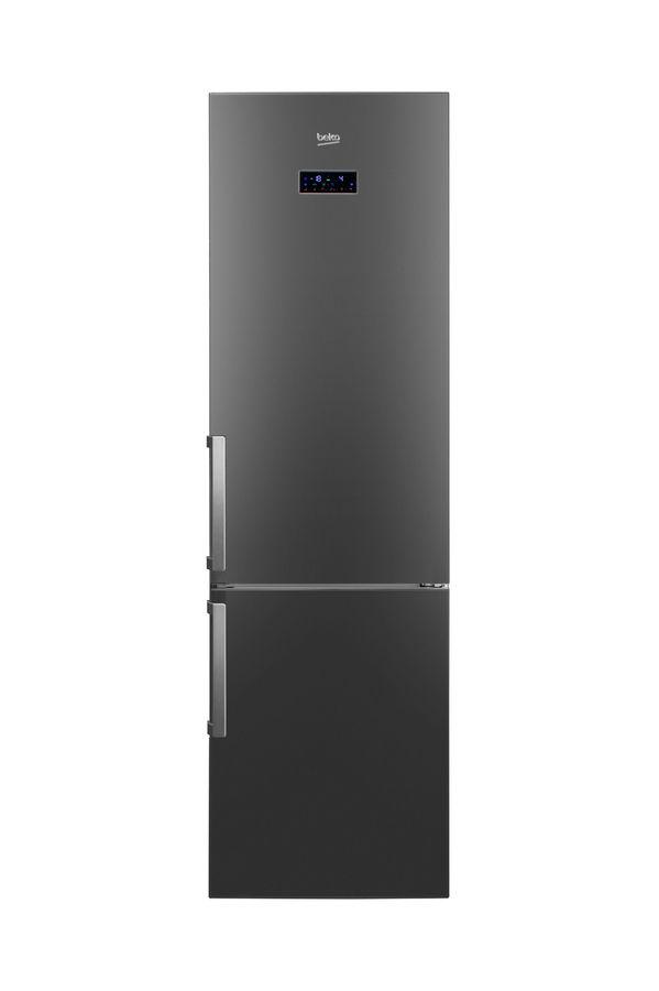Холодильник BEKO RCNK355E21A,  двухкамерный,  черный