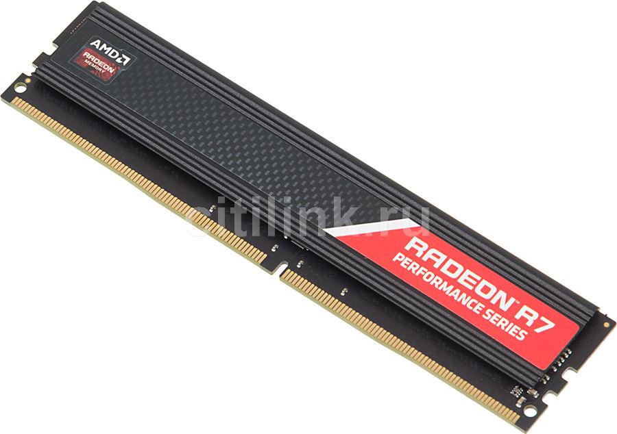 Модуль памяти AMD Radeon R7 Performance Series R748G2400U2S DDR4 -  8Гб 2400, DIMM,  Ret