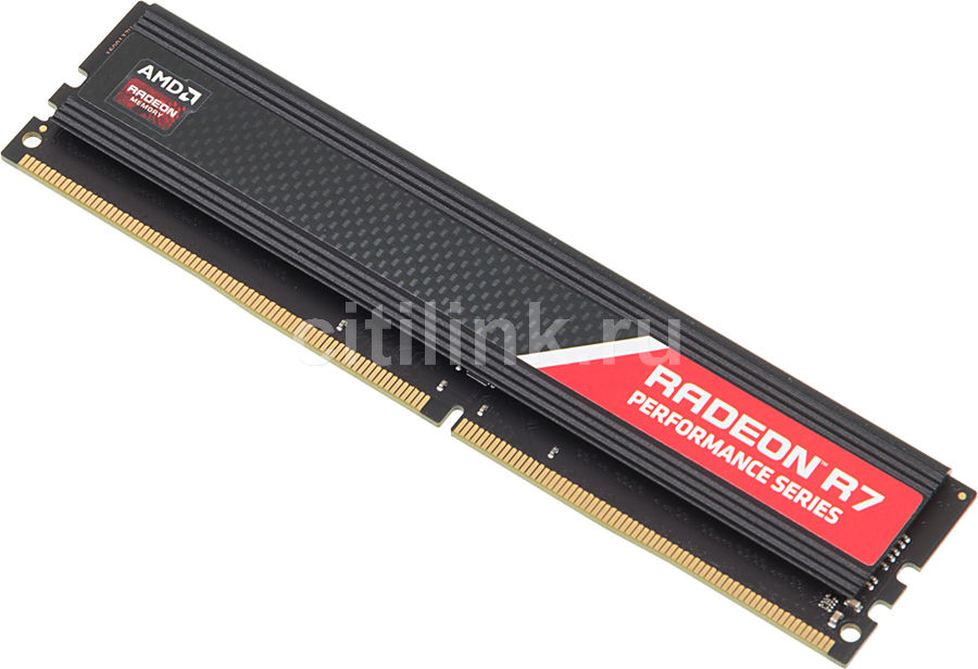 Модуль памяти AMD Radeon R7 Performance Series R748G2133U2S DDR4 -  8Гб 2133, DIMM,  Ret