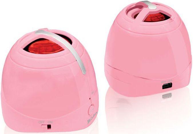 Портативные колонки BBK BTA101,  розовый