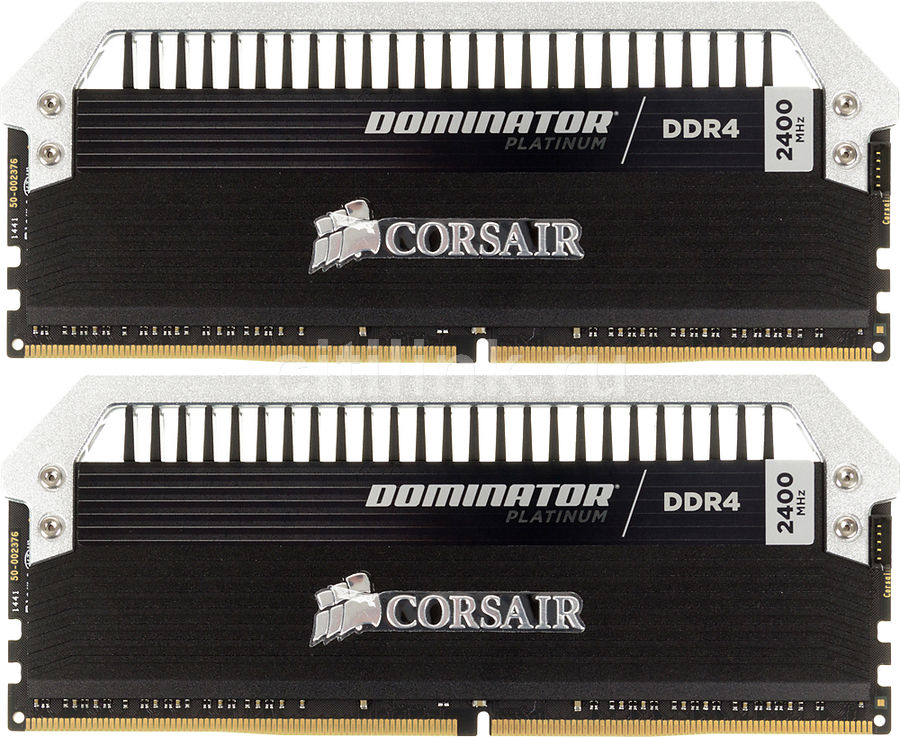 Модуль памяти CORSAIR DOMINATOR PLATINUM CMD8GX4M2A2400C14 DDR4 -  2x 4Гб 2400, DIMM,  Ret