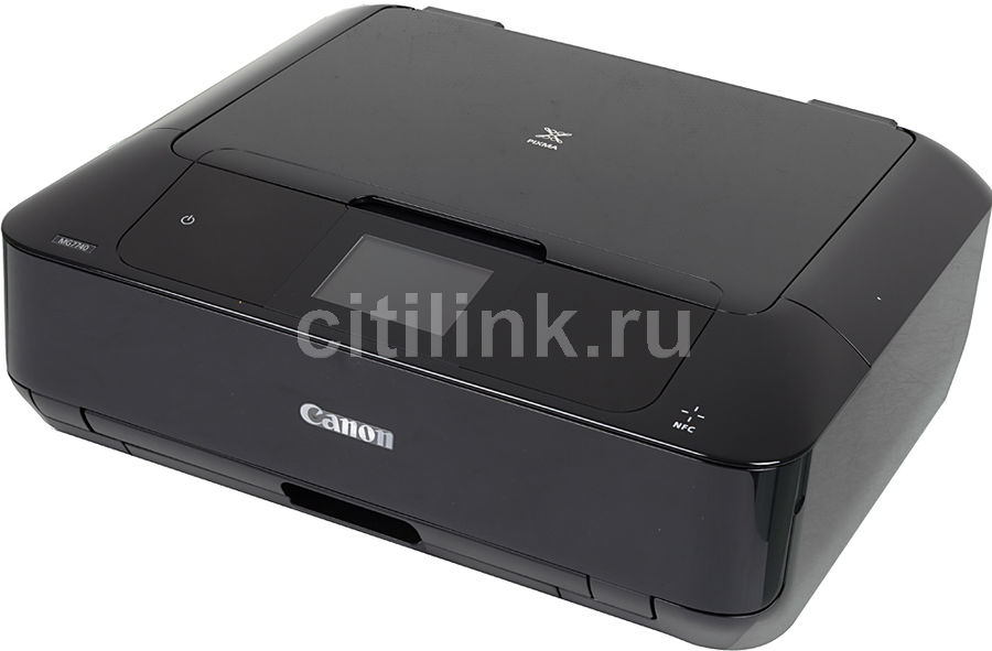 МФУ CANON Pixma MG7740, A4, цветной, струйный, черный [0596c007]