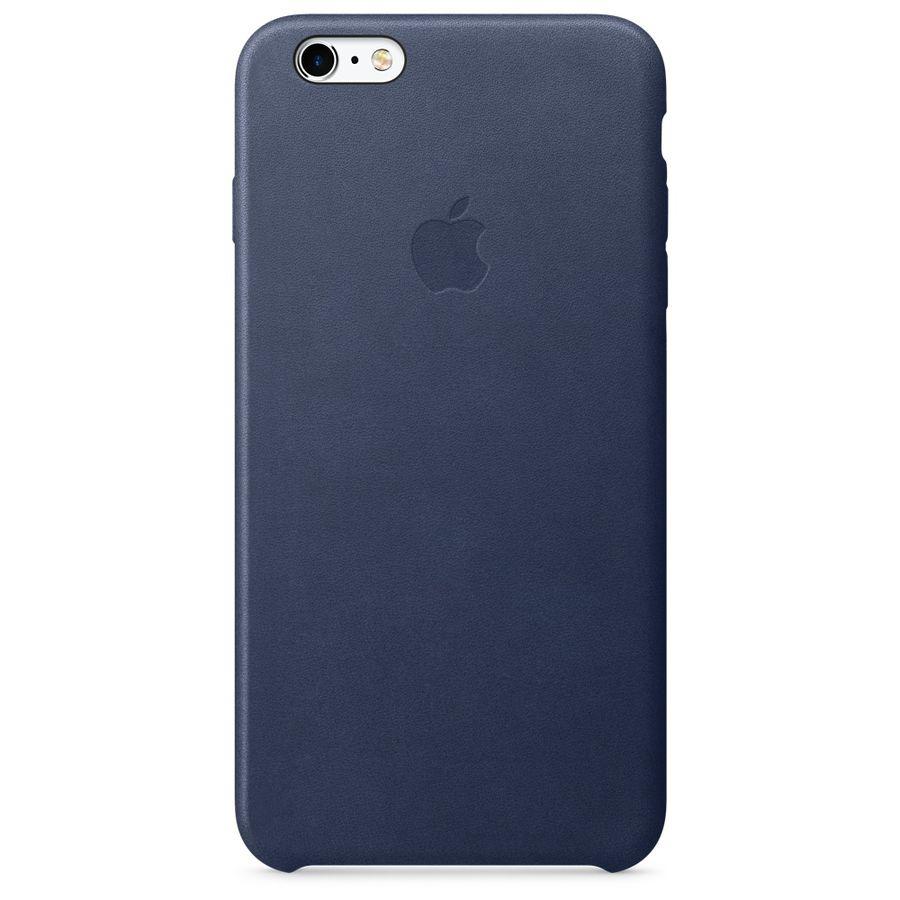 Чехол (клип-кейс) APPLE MKXD2ZM/A, для Apple iPhone 6S Plus, темно-синий