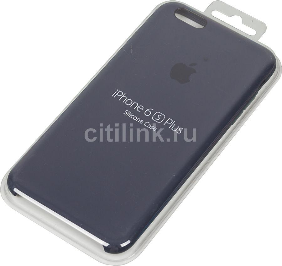 Чехол (клип-кейс) APPLE MKXL2ZM/A, для Apple iPhone 6S Plus, темно-синий