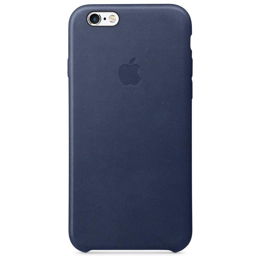 Чехол (клип-кейс) APPLE MKXU2ZM/A, для Apple iPhone 6S, темно-синий