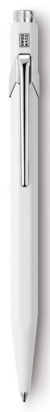Ручка шариковая Carandache Office CLASSIC (849.001_MTLGB) корпус:белый M синие чернила подар.кор.