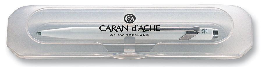 Карандаш механический Carandache Office CLASSIC (844.001_PLGB) белый 0.7мм подар.кор.