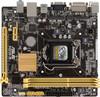Материнская плата ASUS H81M-R/C/SI, LGA 1150, Intel H81, mATX, Ret вид 1