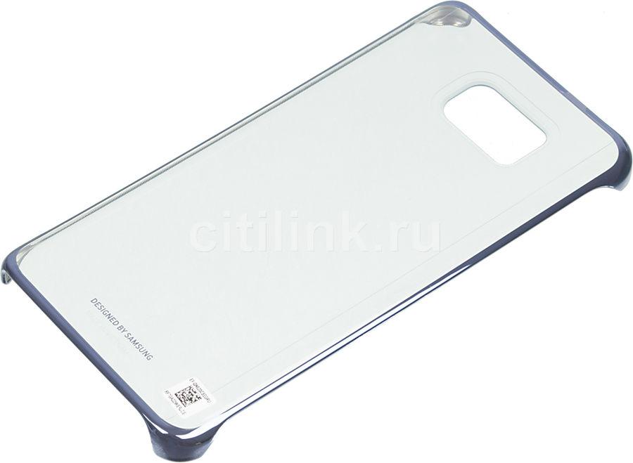 Чехол (клип-кейс) SAMSUNG СlCover, для Samsung Galaxy Note 5, черный [ef-qn920cbegru]