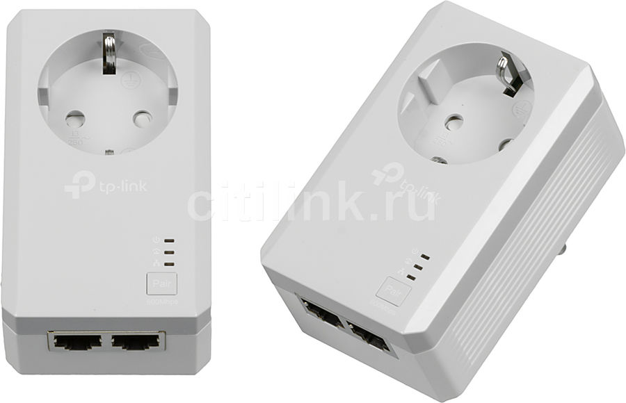 Сетевой адаптер PowerLine TP-LINK TL-PA4020PKIT Ethernet сетевой адаптер ethernet tp link ue200 usb 2 0