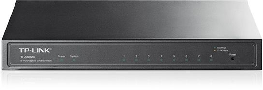 Коммутатор TP-LINK TL-SG2008 адаптер power over ethernet tp link tl poe10r