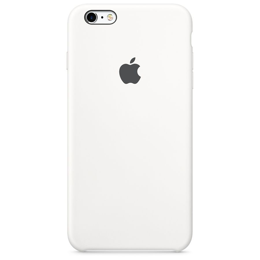 Чехол (клип-кейс) APPLE MKY12ZM/A, для Apple iPhone 6S, белый