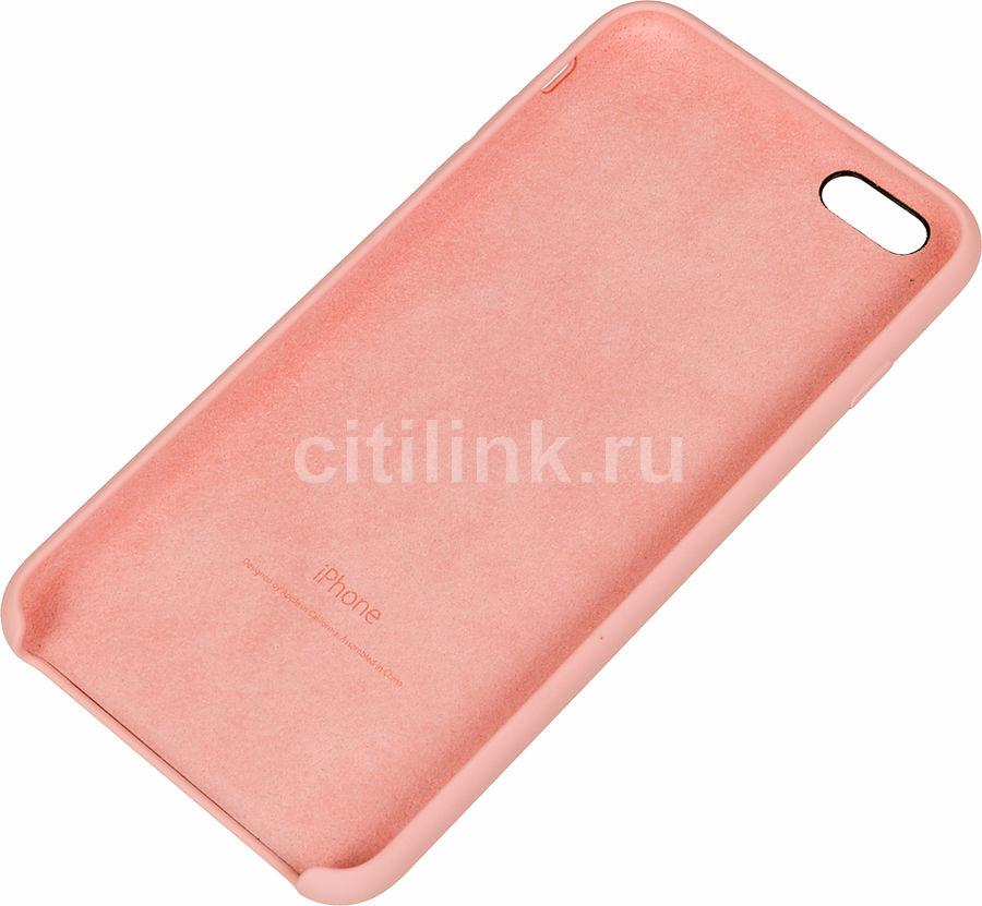 Чехол (клип-кейс) APPLE MLCY2ZM/A, для Apple iPhone 6S Plus, розовый
