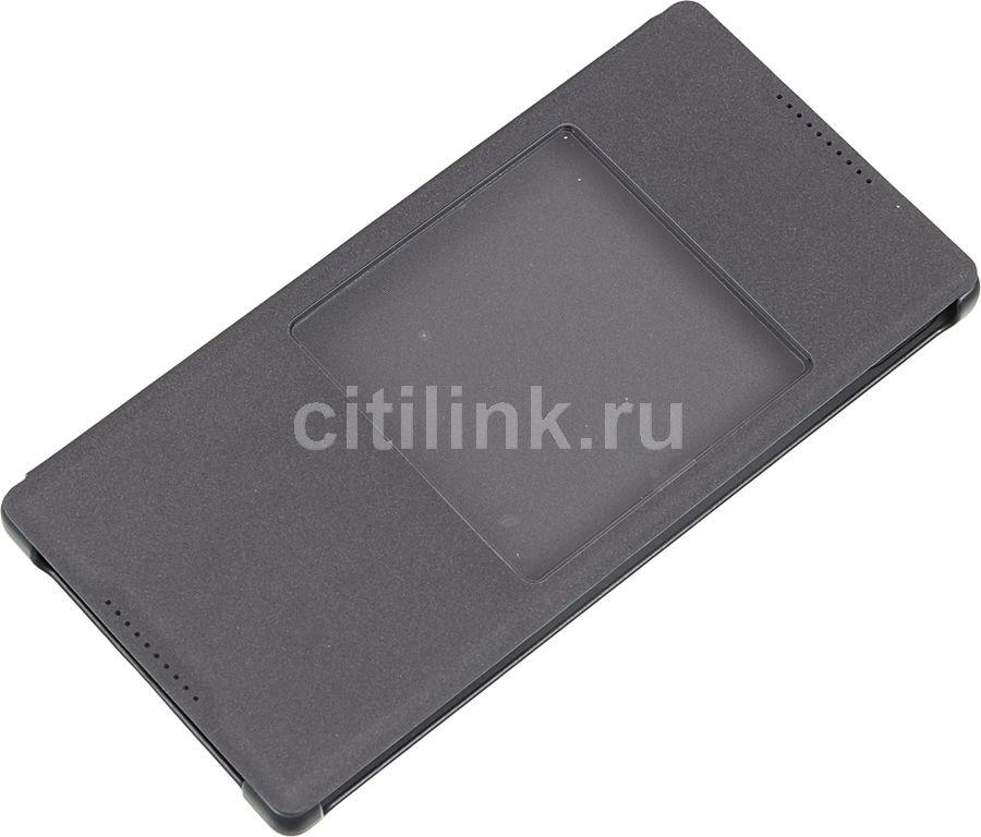 Чехол (флип-кейс) SONY SCR42, для Sony Xperia Z5, черный [scr42 black]