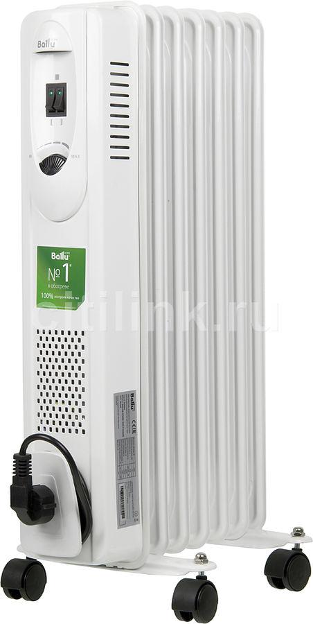 Масляный радиатор BALLU Comfort BOH/CM-07WDN, 1500Вт, белый [boh/cm-07wdn 1500]