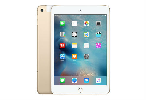 Планшет APPLE iPad mini 4 128Gb Wi-Fi + Cellular MK782RU/A, 2GB, 128GB, 3G, 4G, iOS золотистый