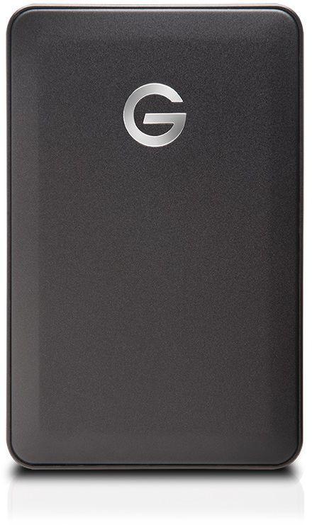 Внешний жесткий диск WD G-Tech G-Drive Mobile, 1000Гб, черный [0g04451]