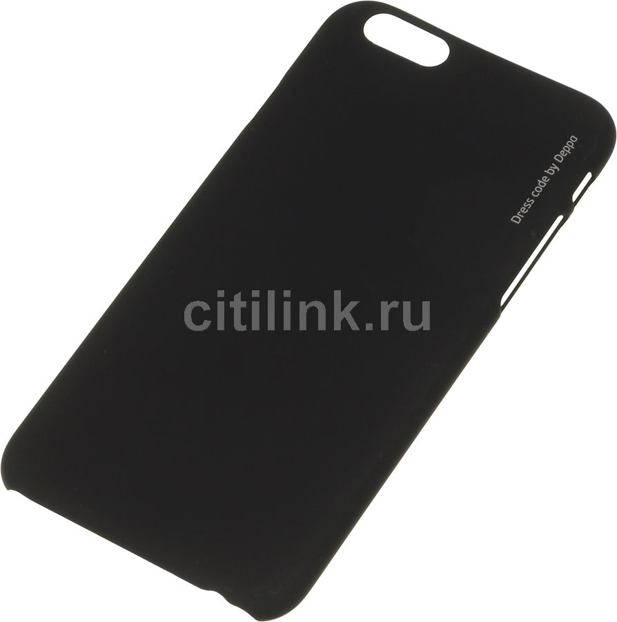 DEPPA Чехол (клип-кейс) DEPPA Air Case, для Apple iPhone 6, черный [83118]