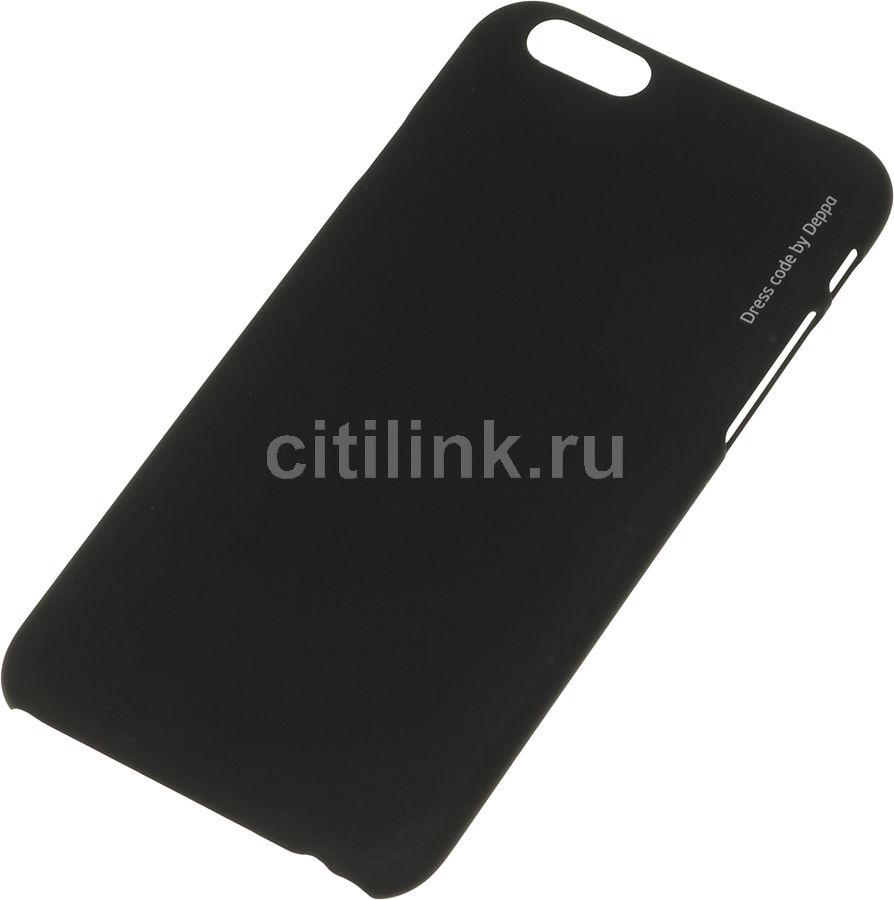 Чехол (клип-кейс) DEPPA Air Case, для Apple iPhone 6, черный [83118]