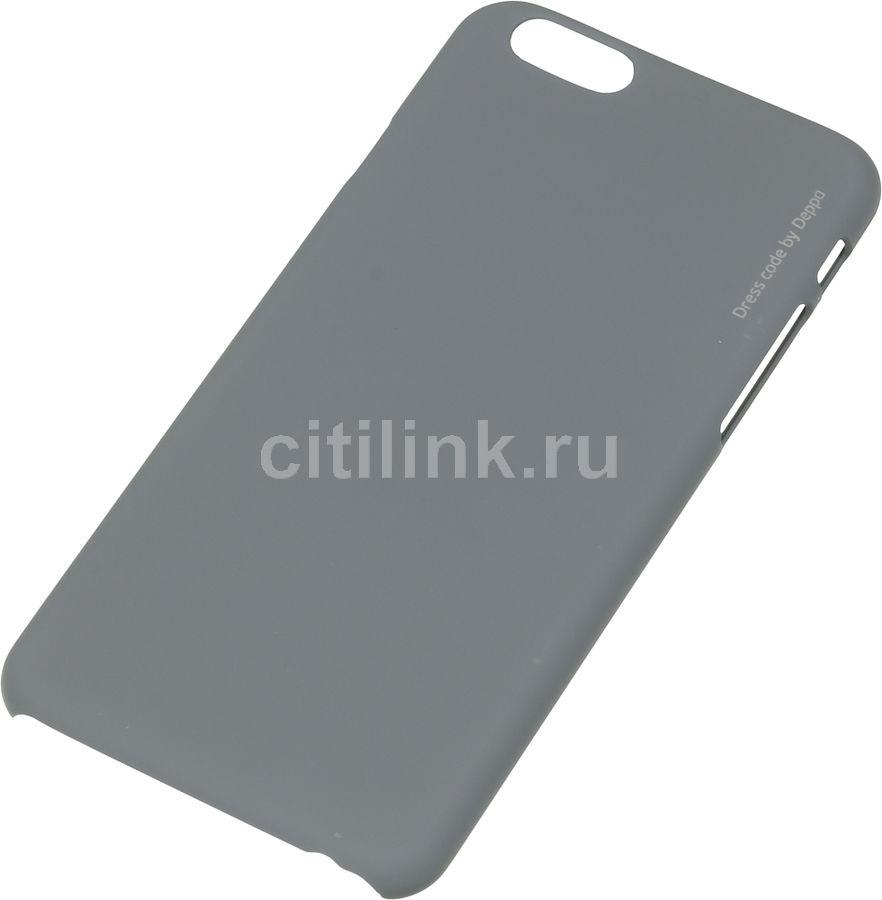 Чехол (клип-кейс) DEPPA Air Case, для Apple iPhone 6/6S, серый [83119]