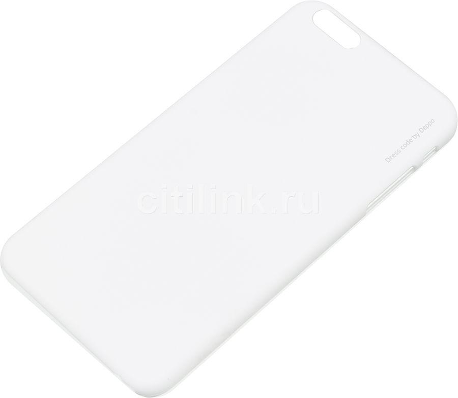 Чехол (клип-кейс) DEPPA Air Case, для Apple iPhone 6 Plus, белый [83122]