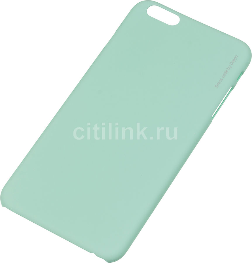 Чехол (клип-кейс) DEPPA Air Case, для Apple iPhone 6 Plus, мятный [83126]