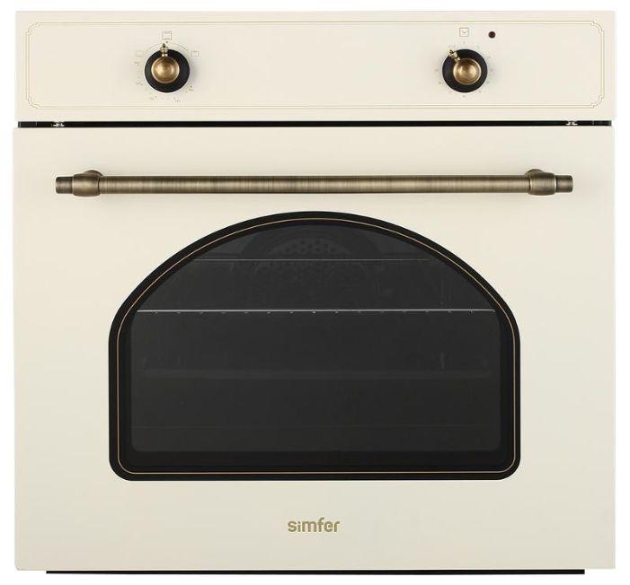 Духовой шкаф SIMFER B6GO12001,  бежевый