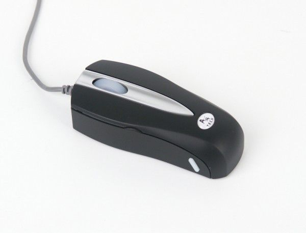 Мышь A4 MOP-28 оптическая проводная USB, PS/2, черный [mop-28-4 up (black)]