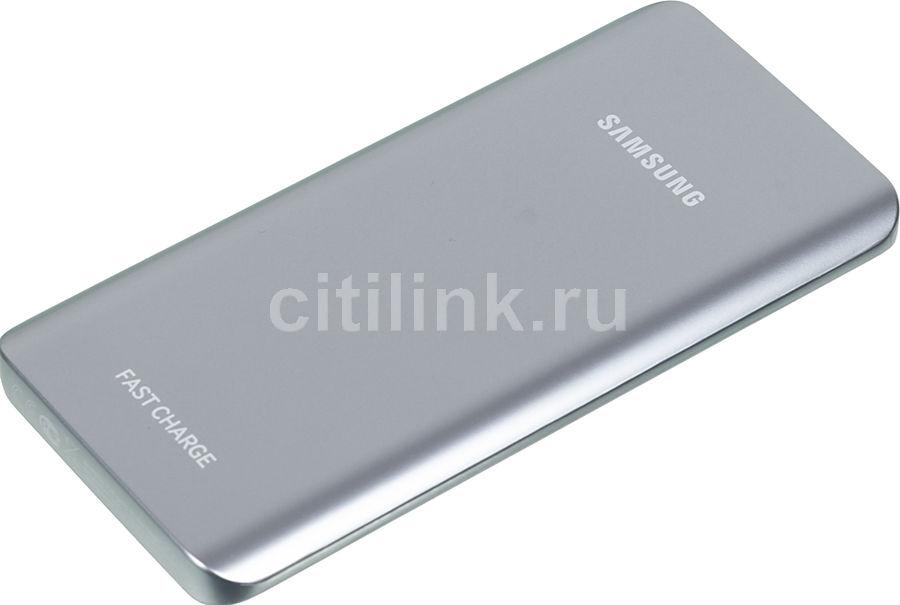 Внешний аккумулятор SAMSUNG EB-PN920USRGRU,  5200мAч,  серебристый