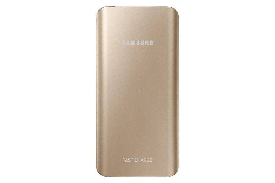 Внешний аккумулятор SAMSUNG EB-PN920UFRGRU,  5200мAч,  золотистый